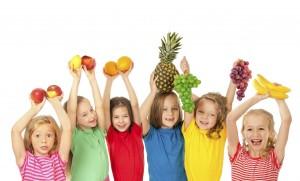 frutas y verduras en tu dieta
