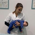 cólicos del lactante, fisioterapia pediatrica